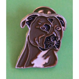 Pin/Anstecker Hunde American Staffordshire Terrier [p300]