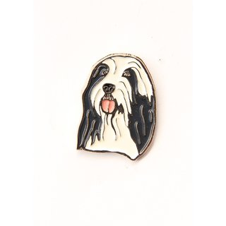 Pin/Anstecker Hunde Bearded Collie [p303]