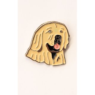 Pin/Anstecker Hunde Golden Retriever [p332]