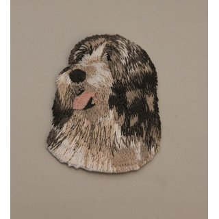 Aufnäher / patch Hunde Bearded Collie [a038]